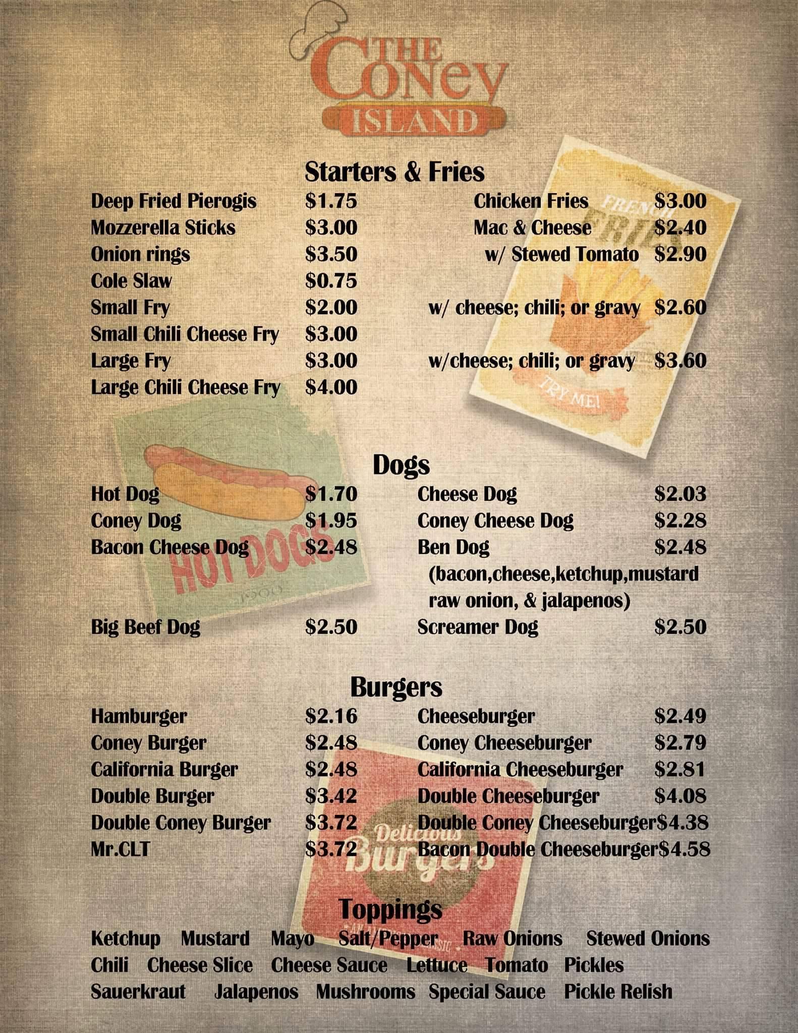42 raw menu